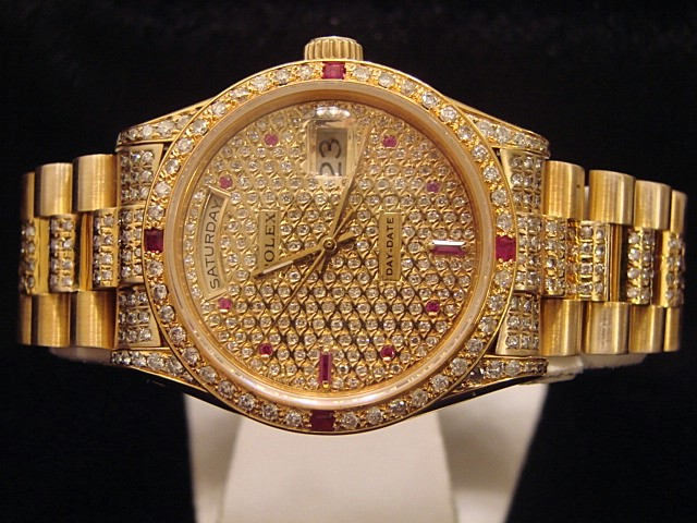 Rolex Watch Diamond